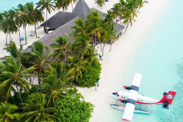 Maldivy sú obĺúbená exotická destinácia v zimných mesiacoch.