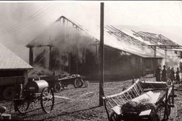 V Zábiedove počas februára 1945 zhoreli takmer všetky domy. Stáť zostalo len 22, aj tie boli poškodené od granátov.