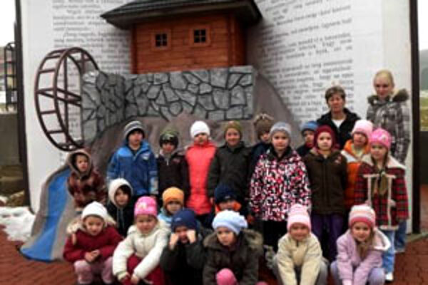 Malí výhercovia z Mútneho si užili škôlku v Slovenskom krase.
