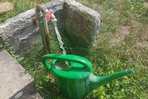 Voda na citoríne im konečne tečie.