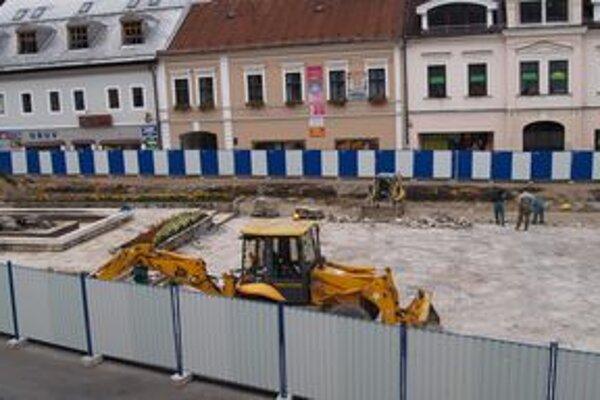 Hviezdoslavovo námestie sa prerába od augusta.