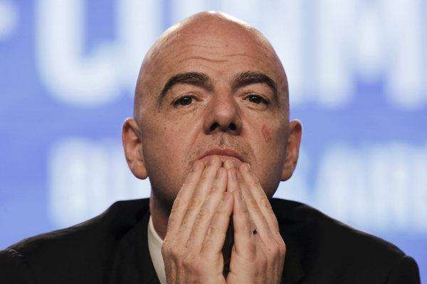 Prezident Medzinárodnej futbalovej federácie (FIFA) Gianni Infantino