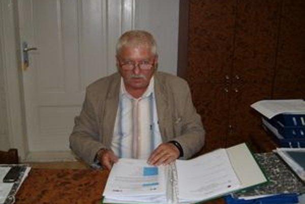 Starosta Oravskej Jasenice Jozef Verček.