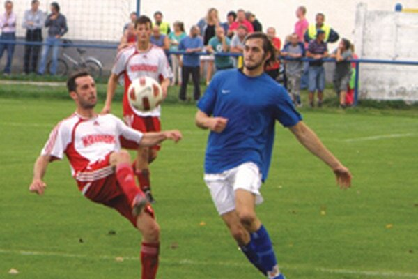 Hrušovany v minulom kole vyhrali svoj prvý zápas v V. lige Stred, keď doma porazili Preseľany 2:1.