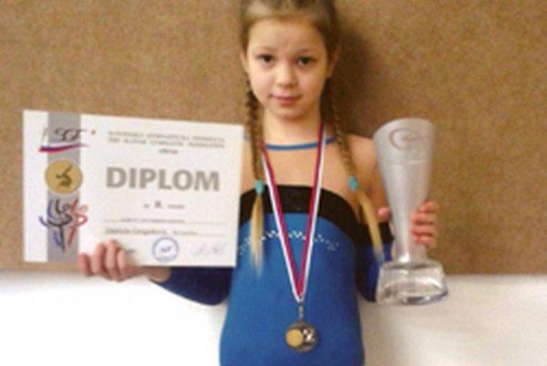 Daniela Gregušová obsadila druhé miesto.