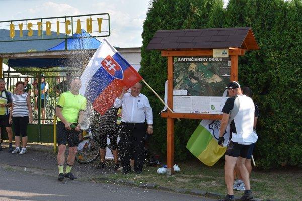 Nový okruh pre športovcov v Bystričanoch je už otvorený.
