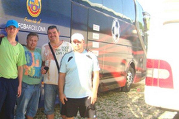 Jozef Krošňak, Roman Gréč, Michal Kica aStano Mako.