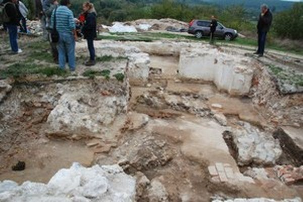 Archeologické nálezisko v obci Závada.