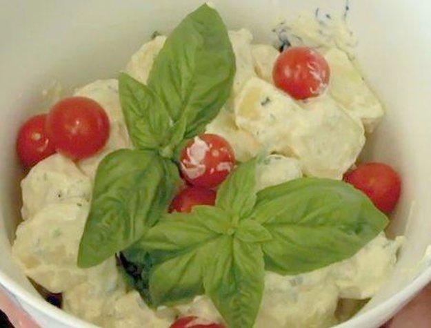 Studený zemiakový šalát