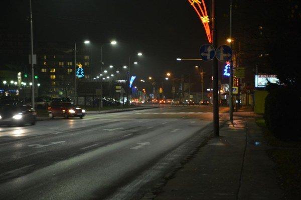 Ulica Československej armády.