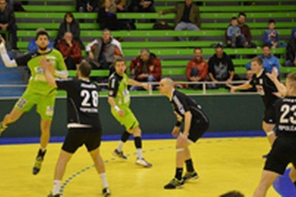 Topoľčany doma porazili Prešov, snímka zo zápasu Agro Cupu Topoľčany - West Viedeň.