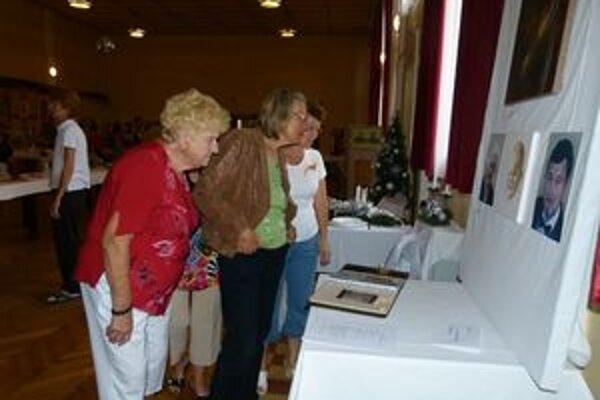 Výstava Práznovčanov potešila.