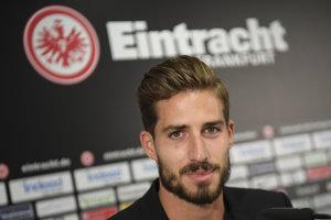 Kevin Trapp sa vracia do Eintracht Frankfurt.