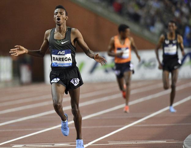 Osemnásťročný Selemon Barega podal parádny výkon.