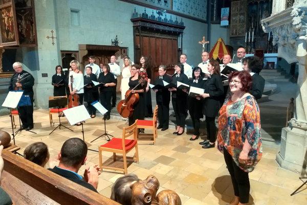 V bardejovske bazilike koncertovali Virtuosi di Praga a Collegium Cantorum. (ZDROJ: REDAKCIA)