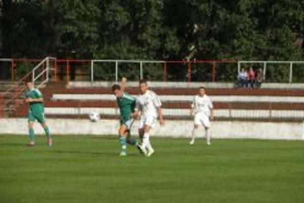 Jediný gól Topoľčian strelil Pavol Baláž.