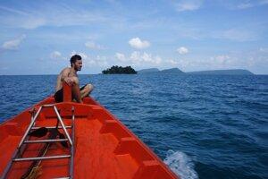 Objavovanie kambodžských ostrovčekov.