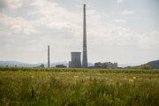 Novácka elektráreň, ktorá vyrába elektrinu z hnedého uhlia.