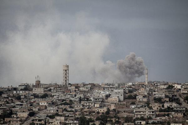 Provincia Idlib bola v posledných rokoch často miestom bojov.