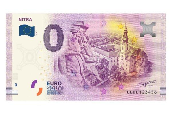 Mesto Nitra vydá bankovku s nulovou hodnotou - pre zberateľov.