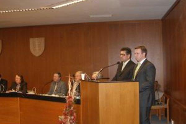 Na rokovaní vystúpili aj zástupcovia spoločnosti Bioenergy.