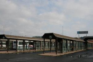 Stanica v Spišskej Novej Vsi. Záujem o ňu má eurobus.