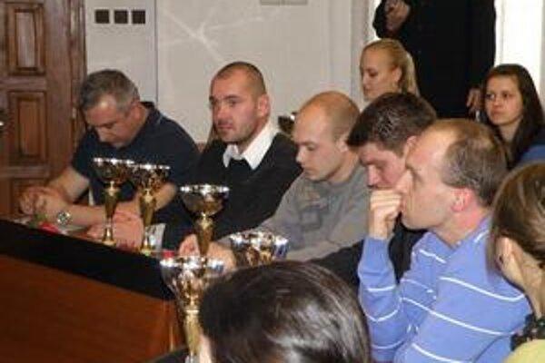Ocenení športovci.