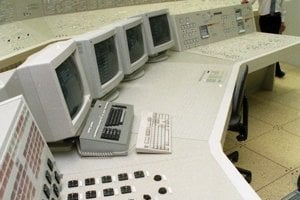 28. júl 1995. Celkový pohľad na plnorozsahový simulátor.