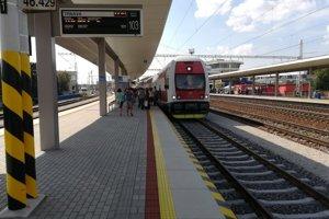 Druhé nástupište už od dnes (7. september) slúži cestujúcim.