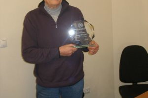 ZMOS udelil bývalému primátorovi ocenenie pri príležitosti 20 výročia svojho vzniku.