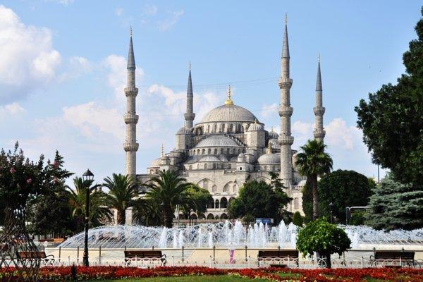 Ikonická Modrá mešita
