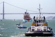 Systém dopravia približne 640 kilometrov od pobrežia San Francisca, kde ho podrobia poslednému dvojtýždňovému testu.