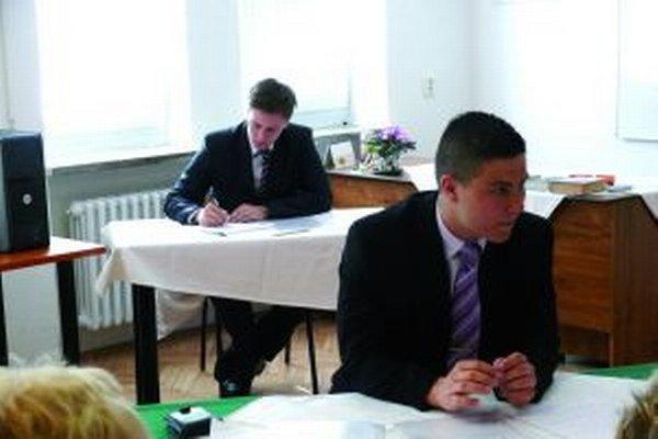 Matej Simon nemal s logistikou pri maturitnej skúške žiadne problémy.