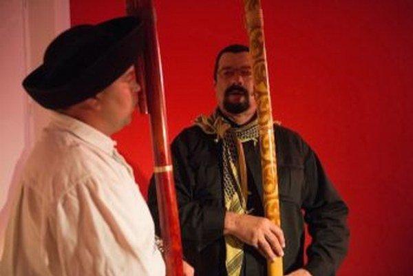 M. Brxa (vľavo) tvrdí, že Segal rýchlo pochopil princíp hry.