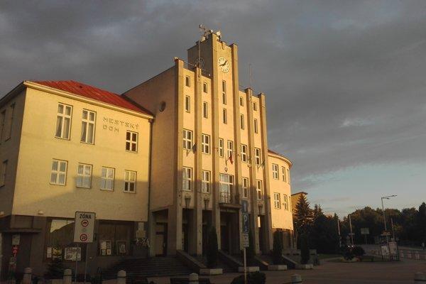 Budova Mestského úradu v Čadci.