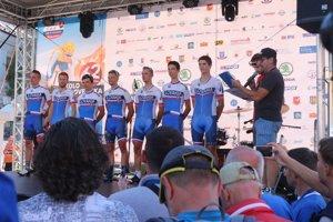 Predstavenie slovenského tímu.