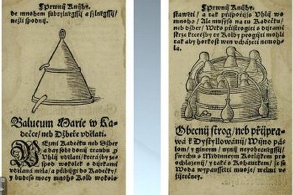 V starých knihách nájdete i presný návod ako si vyrobiť domácu pálenku.