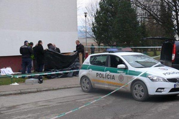 Tragédia sa stala na Lermontovej ulici v Martine na Ľadovni.
