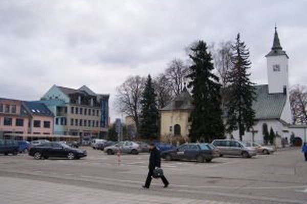 Centrum Martina s Kostolom sv. Martina.