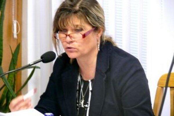 Beata Gáborová - prednostka MsÚ v Turč. Tepliciach.