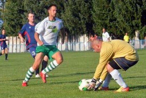 K remíze Dražkovčanov na Bystričke jedným gólom prispel aj Peter Mucha.