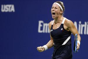 Francúzska tenistka Pauline Parmentierová.