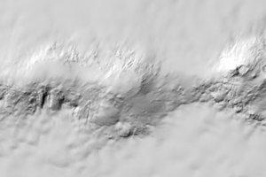 Vulkány na západe Antarktídy.