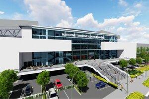 Takto by malo vyzerať NTC Košice na Popradskej ulici.