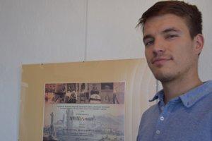 Historik Novohradského múzea Štefan Chrastina pri prestížnom ocenení.