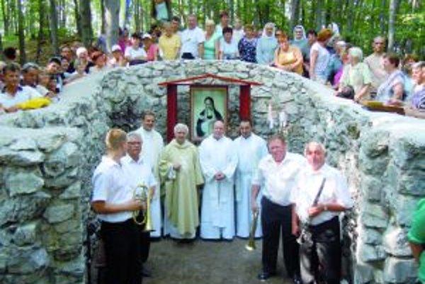 Podujatie zorganizoval farár z Kláštora pod Znievom Štefan Hýrošš.