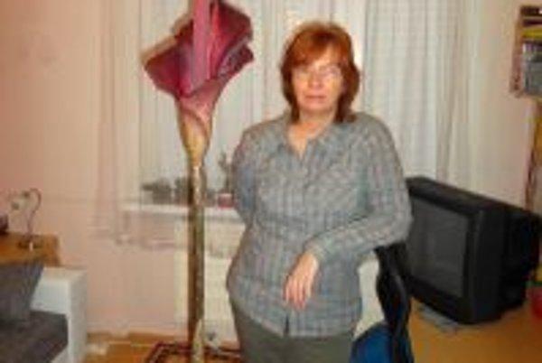 Mariana Kolomazníková čakala veľa rokov, kým zmijovec zakvitol.