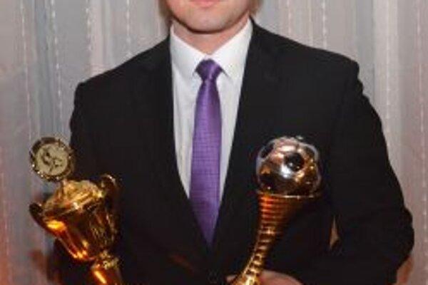 Marek Jeťko, najlepší futbalista turčianskych futbalových súťaží za rok 2012.