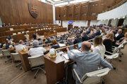 Poslanci si pripomenuli výročie vzniku Slovenskej národnej rady.