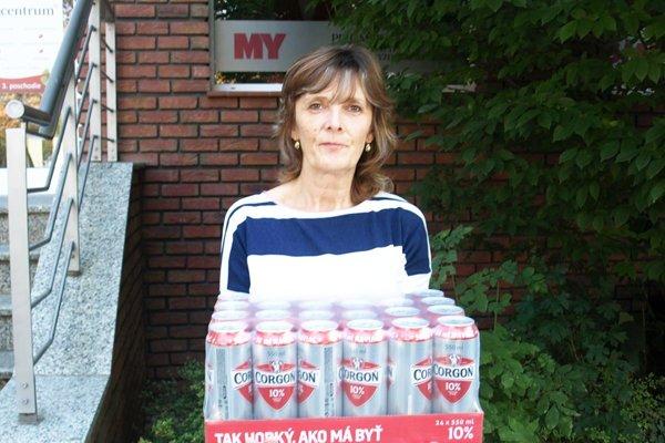 V šiestom kole vyhrala kartón piva Corgoň Ľudmila Verešová z Golianova.
